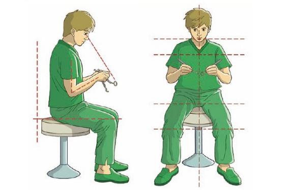Ventajas de la posición sentado en odontología