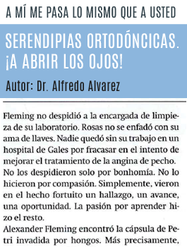 #LecturaRecomendada: Serendipias ortodóncicas
